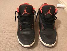 Jordan Retro 3 Black/Red  US 8 (3 Days bidding)