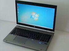 "HP EliteBook 8560p 15.6"" Core i5-2520M 2.5/4/320GB Win 7 1600x900 Gaming Laptop"