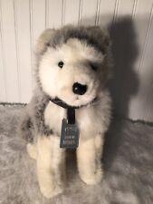 1994 Husqvarna Siberian Husky Dog Plush Stuffed Animal