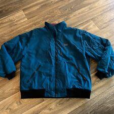 Vintage LL Bean Blue Winter Jacket Men's Size L