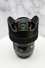 Sigma Art 14mm F/1.8 DG HSM Lens For Canon (Black)