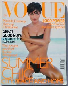 1997 July VOGUE 90s vintage fashion magazine Sarah Moon Rachel Whiteread