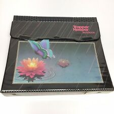 Vintage Mead Butterfly Trapper Keeper Notebook 29096 Black Red
