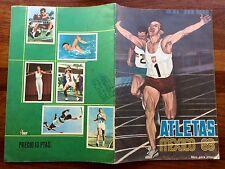 Álbum Atletas México 68 Vacío  Fher Año 1968