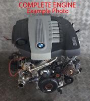 BMW E90 E91 LCI E92 325d 330d N57 Bare Engine N57D30A with 99k miles, WARRANTY