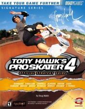 Tony Hawk Pro Skater 4 Official Strategy Video Game Skate Skating Guide book SC