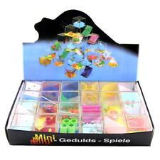 24x Kids Maze Puzzle Toy Children Beads Ball Game Plastic Colourful Maze Box