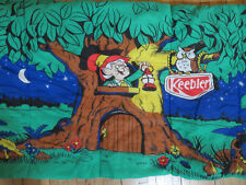 1984 Keebler Elf Sleeping Bag - Rare Vintage 1980's 5' x 2.5' Cartoon Tree Owl