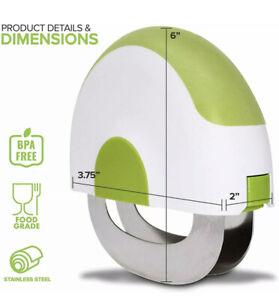Microplane Herb/Salad Chopper Green/White BPA Free Stainless Steel