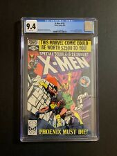 X-MEN 137 (W/P) (9/80) CGC 9.4 DEATH OF THE PHOENIX NEW CASE! INCREDIBLE,COLOR!