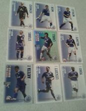 SHOOT OUT CARDS 2006/07  (06/07) - Everton Complete Set of 18 Cards