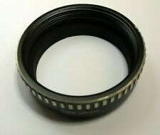 Spiratone Metal Lens Hood Shade screw in type 42mm OD Male threads