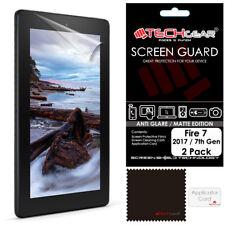 """2x TECHGEAR MATTE ANTI GLARE Screen Protectors for Amazon Fire Kids Edition 7"""""""