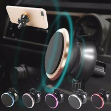 In Car Magnetic Phone Holder Fits Car Air Vent Universal Mount 5 colours
