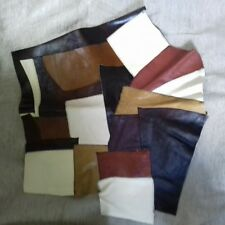 patch work leather piece 15 inch x 15 inch