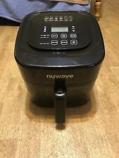 NuWave 37001 6-Qt 1800W Digital Air Fryer - Black
