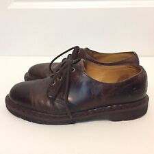Vintage Dr Martens Men Brown Lace Up Shoes Made in the England