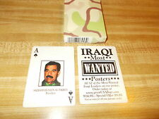 New Old Stock Original Iraq War Terrorists Most Wanted Playing Cards Hoyle Prods