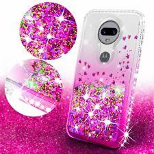 Motorola Moto Z2 Force Case Liquid Glitter Phone Case Waterfall Floating Quicksa