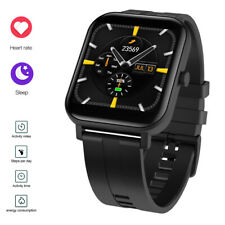 Men Water-Resistant Smart Watch Heart Rate Monitor Sport for Samsung LG Huawei