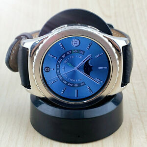💝Samsung Galaxy Gear S2 classic SM-R732 40mm Stainless Steel Case Smart Watch