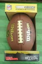 Nfl Official Wilson Football Castrol Edge Composite Limited Edition New