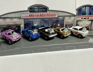 1987 Micro machines The Hot Rod Collection by Galoob