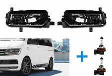 SMOKE SCHWARZ NEBELSCHEINWERFER + 2 x H11 für VW T6 Multivan Transporter