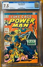 Power Man #24 CGC 7.5 (Origin & 1st App of Bill Foster as Black Goliath) Marvel