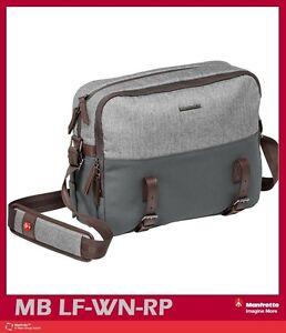 Manfrotto Windsor Camera Reporter Bag for DSLR (Gray) Mfr # MB LF-WN-RP