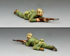 KING & COUNTRY U.S.M.C. USMC031 U.S. MARINE CRAWLING WITH RIFLE MIB