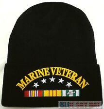 U.S. MARINE CORPS USMC VIET NAM VIETNAM VETERAN VET WATCH CAP BEANIE KNIT HAT OS