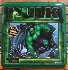 2003 Pressman Hulk Bust Loose & Face to Face Games Tin FOUND PUZZLE   St 888