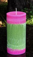 200hr BERGAMOT & ROSE PETALS Natural CANDLE for GARDENERS & MOTHERS DAY GIFTS