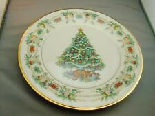 Lenox China Christmas Trees Around The World America 8th Annual Plate 1998