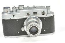 Zorki C cámara telemétrica con Industar - 22 50mm f3.5 Rojo Pi, basado en Leica