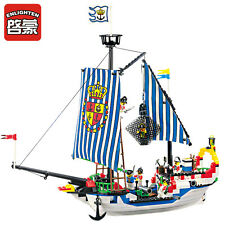ENLIGHTEN Pirates of the Caribbean Corsair Royal WarShip Blocks Minifigures