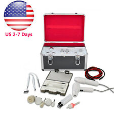 USA 5-1 High Frequency Galvanic Facial Brush Vacuum Spray Beauty System Machine