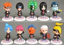 Set 11 Naruto Shippuden Akatsuki Toy Figure New without Box