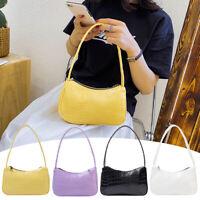 Retro Alligator PU Leather Handbag Women Lady Casual Zipper Totes Shoulder Bags