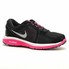 Women's Sz 6.5/6 Nike Dual Fusion Run 3 Running Shoes Trainers Sneakers Black