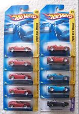 2008 2013 Hot Wheels Tesla Roadster Choice Lot