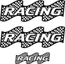 3 XXL Racing Van Trailer Motocross Boat Decals Vinyl Sticker Graphic n068-1