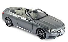 NOREV 183484 - Mercedes Benz S Klasse Cabriolet 2015 Grey metallic 1/18