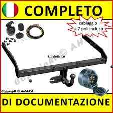 Gancio traino fisso Seat Alhambra  VW Sharan 2000-2010 + kit elettrico 7-poli