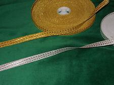 Scottish Highland Dance Braid-Gold or Silver