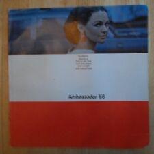 AMC Ambassador 1966 large brochure American Motors Corp DPL 880 990 Convertible