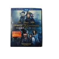 Pirates of the Caribbean: Dead Men Tell No Tales (Blu-ray/DVD, 2017, 2-Disc Set,