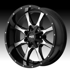 Moto Metal,17 inch MO970  17x8  Black Alloy Mag Wheel Rim