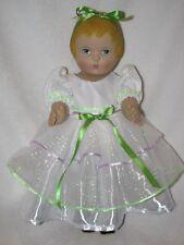 """18""""  Molded Hair Vinyl Patsy Doll By Daisy Kingdom Dolls 1991"""